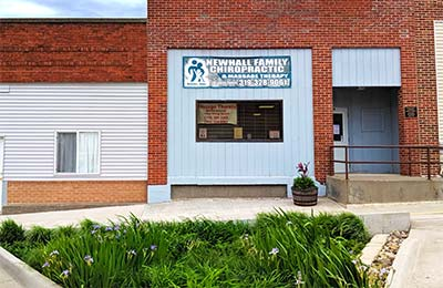 Chiropractic Newhall IA Building